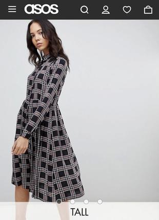 Шикарное платье asos m-l