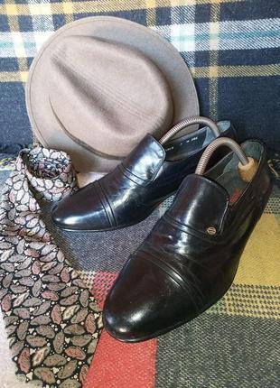 Туфли модельные pierre cardin винтажные made in italy