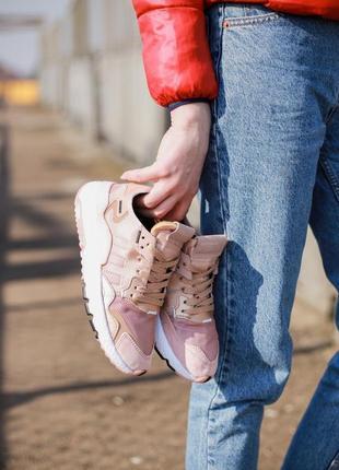 Adidas nite jogger w vapour pink 🔺 женские кроссовки