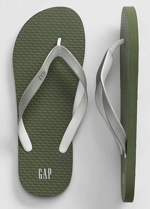 Вьетнамки мужские gap оригинал eur 41 42 43 44 45 46 47 шлепки пляжные