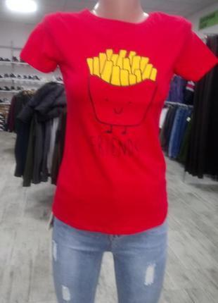 Красивая футболка # красная футболка