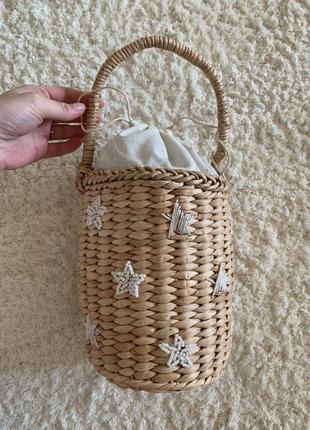 Сумка плетёная/ сумка плетена