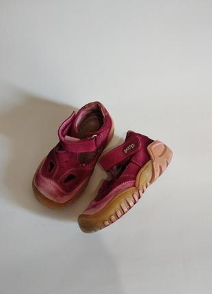 Босоножки сандалики bartek малышке стелькa 14,5 см