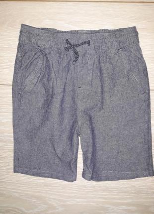 Легкие, хлопковые шорты denim co на 7-8 лет2019г