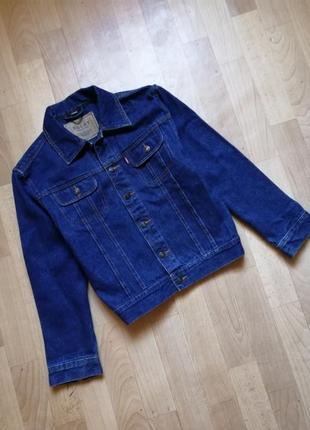 Джинсовая куртка 152