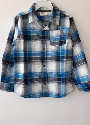 Рубашка фланелевая на  5 лет crazy8