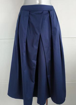 Стильная юбка-миди autograph: бренда премиум–класса с карманами