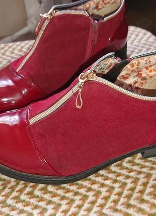 Яркие стильные ботиночки-туфли на весну!