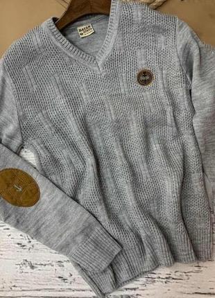 Полувер. свитер в школу для мальчика.