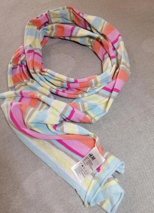 Отличный фирменный  шарф.