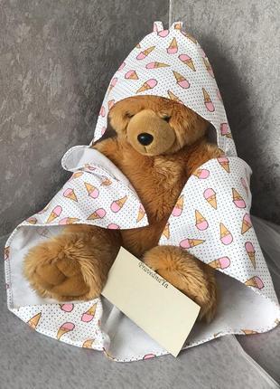 Фланелевое полотенце - уголок