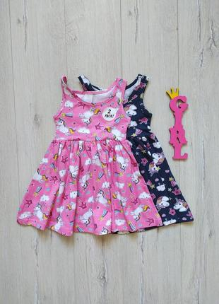 2-3 года, комплект платьев matalan.