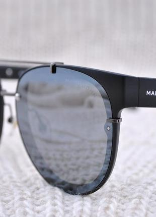 Фирменные солнцезащитные  зеркальные очки marc john polarized unisex