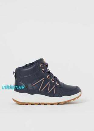 Хайтопы ботинки демисезон h&m eur 34, uk 1.5