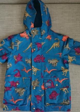 Куртка с динозаврами