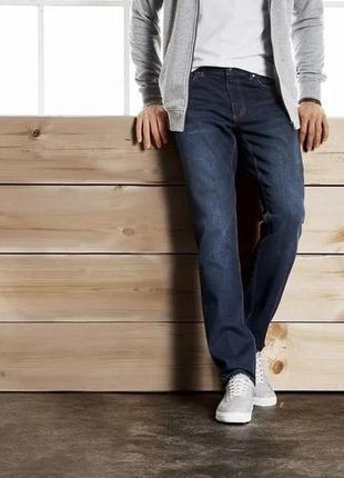 Модные синие джинсы 52 euro (36-34), livergy, германия