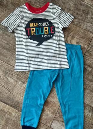 В наличии. пижамы, костюм , штаны, футболка george 2-3 года, 92-98 см