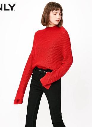 Идеальный базовый оверсайз свитер свитшот джемпер