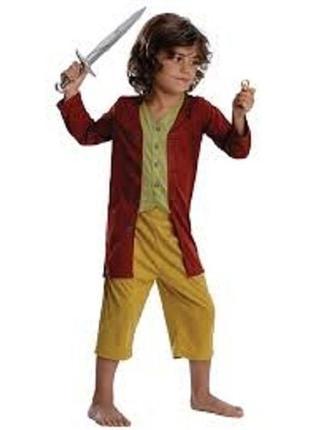 Хоббит бильбо фродо костюм карнавальный 4-6 лет