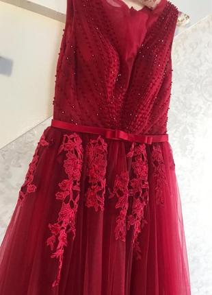 Платье на выпускной, вечернее платье, свадебное платье