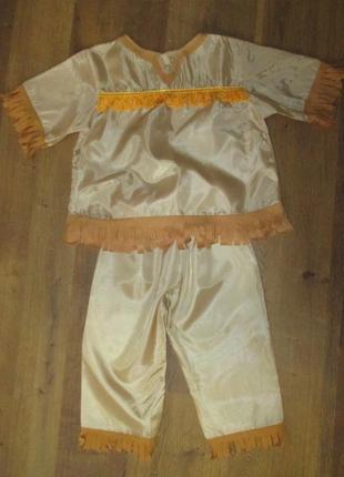 Индеец костюм карнавальный 3-5 лет