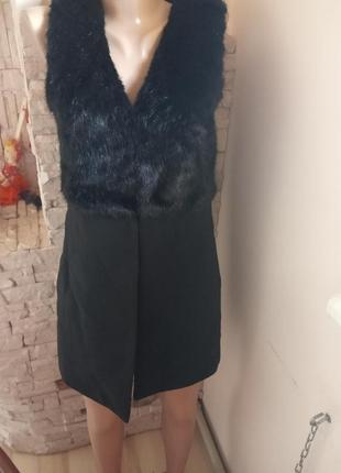 Пальто безрукавка new look