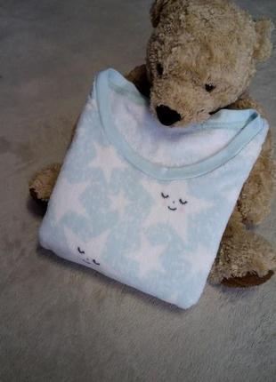 Пижама нежная,мягкая,тёплая,уютная махровая размер 16-18 george
