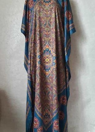 Новая царская плажная туника/пляжное платье в восточном стиле, размер м-л