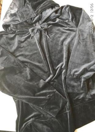 Свитер женский бархатный р. 3xl, германия