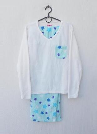 Флисовая пижама для сна и дома