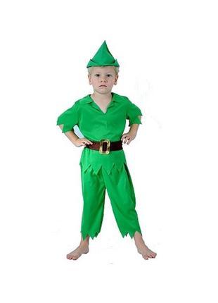 Питер пен робин гуд 6-8 лет костюм