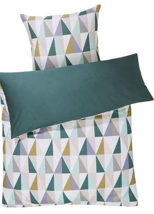 Комплект двухстороннего постельного белья 150х220 meradiso абстракция