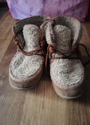 Классные ботинки zara