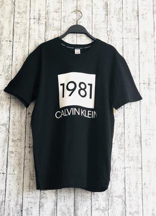 Женская футболка calvin klein, m, оригинал