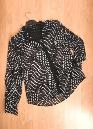 Шифонова рубашка блуза  oasis