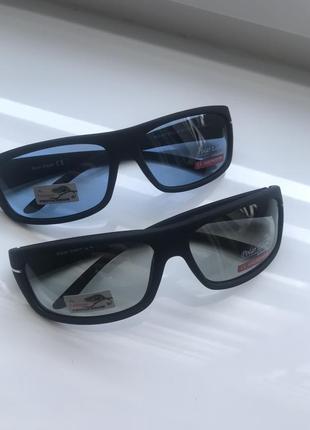 Мужские солнцезащитные очки фотохромы хамелеон