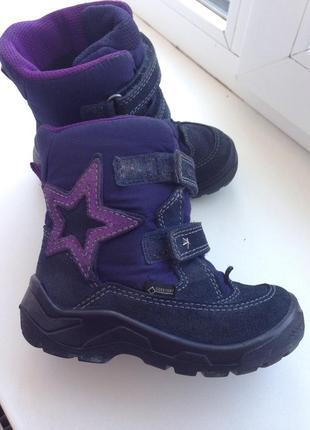 Термосапожки ecco чобітки ботинки