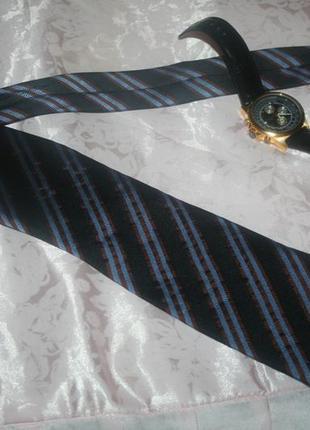 Дизайнерский классический шелковый элегантный мужской галстук