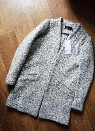 Меланжевое пальто, кардиган, тренч, пиджак, накидка
