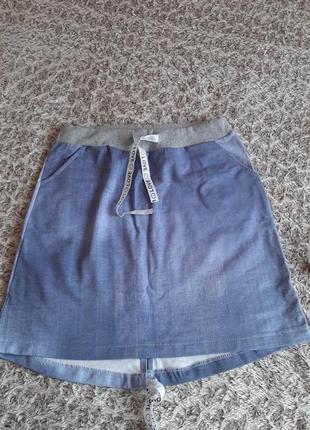 Спідничка під джинс