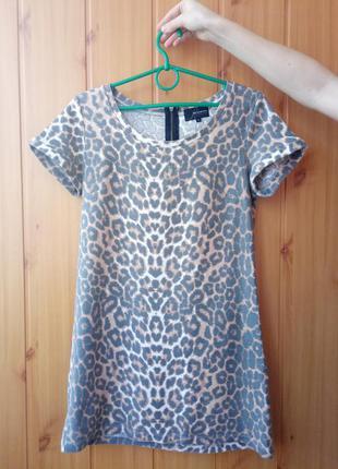 Платья с тигровым принтом
