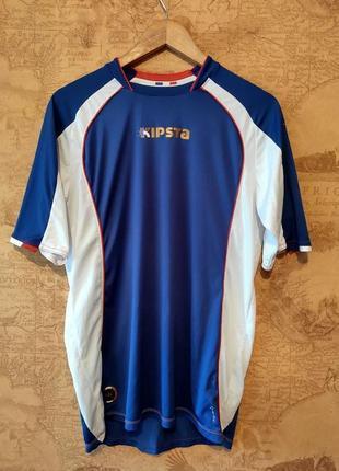 Новая мужская спортивная велоcипедная футболка фирмы kipsta ( oxylane)