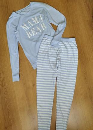 Пижама с надписью  от f&f