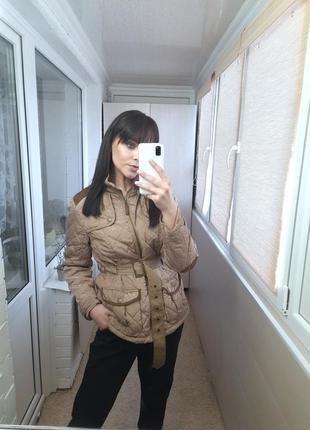 Стеганка/стеганая куртка/удлинненая