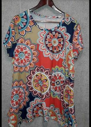 Новая блуза туника в  54-60