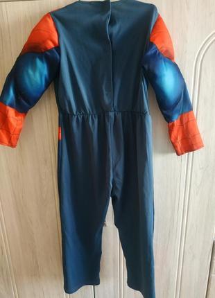 Комбинезон человек-паук для мальчика