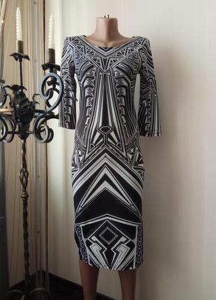 Платье трикотажная вискоза