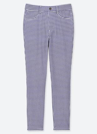 Женские ультра стретчевые укороченные леггинсы брюки uniqlo