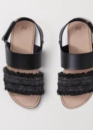 Босоніжки сандалі h&m