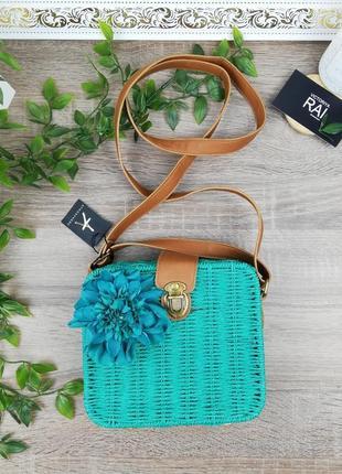 Atmosphere. классная плетёная сумочка